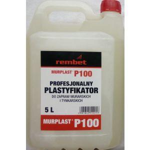 Plastyfikator do zapraw MURPLAST P100 - roztwór 5 L